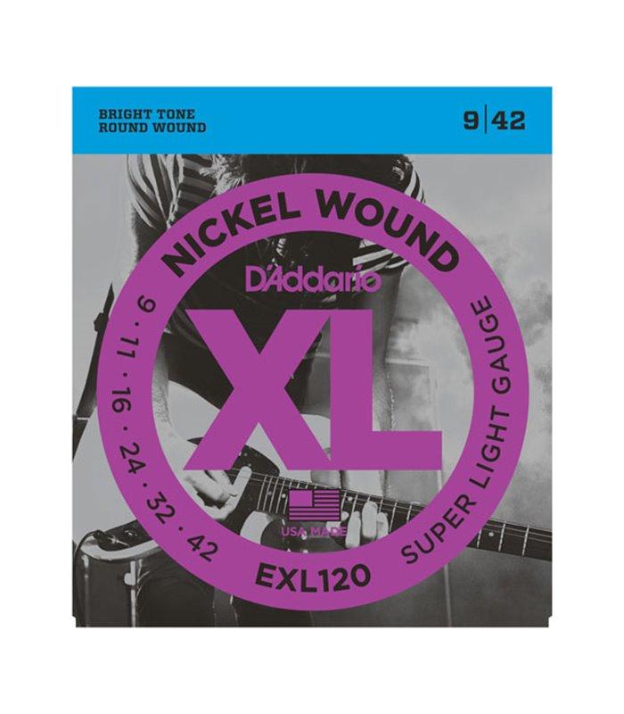 ®ICE DADDARIO ELEKTRIKA EXL120 09-42
