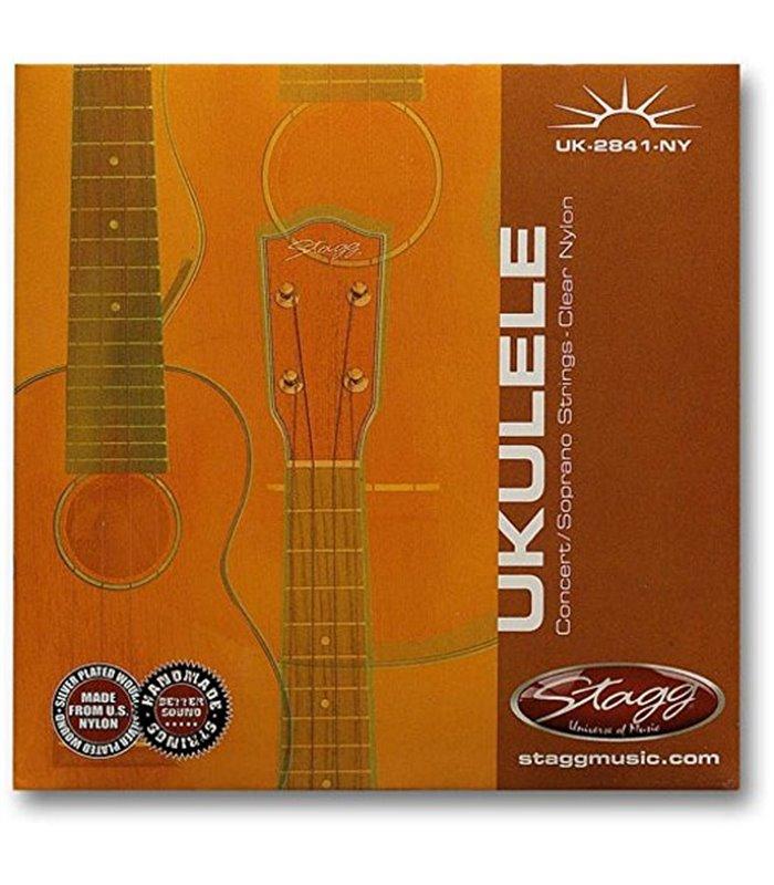 ®ICE STAGG UKULELE UK-2841-NY