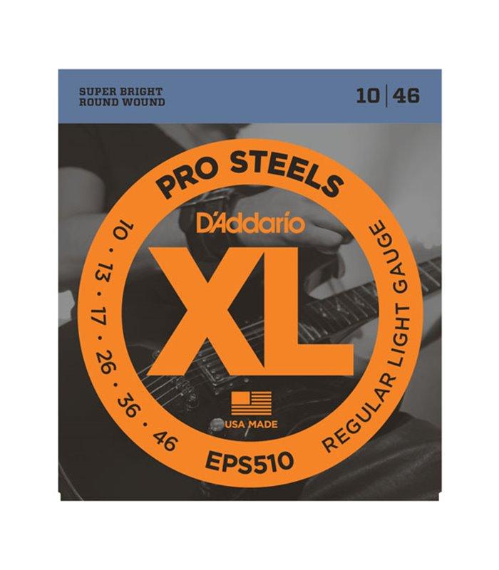 ®ICE DADDARIO ELEKTRIKA EPS510 10-46 pro steel