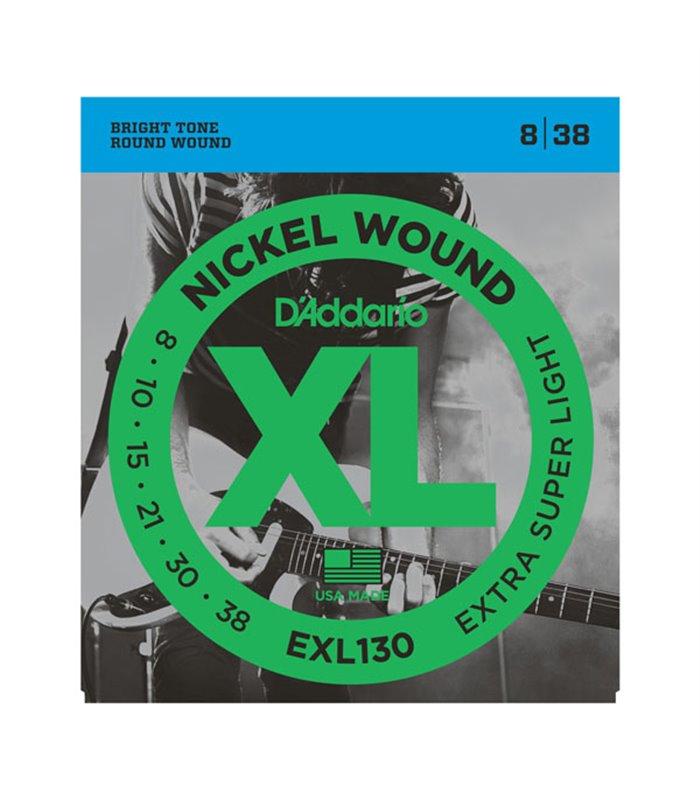 ®ICE DADDARIO ELEKTRIKA EXL130 08-38