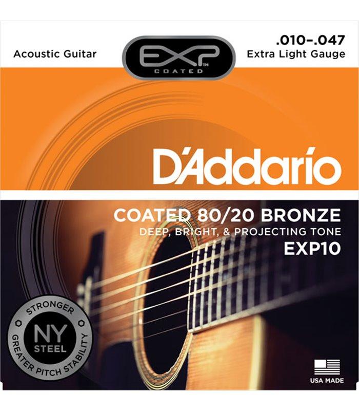 ®ICE DADDARIO AKUSTIKA EXP10 10-47 coated