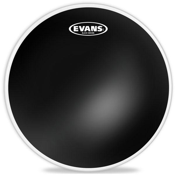 """PLASTIKA EVANS TT08CHR 8"""" BLACK CHROME CLEAR"""