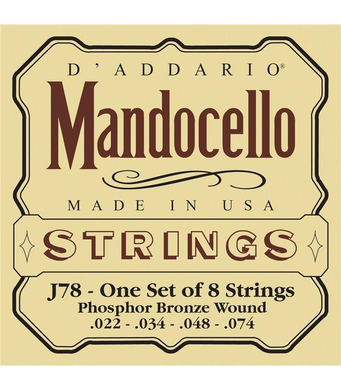 ŽICE DADDARIO J78 MANDOCELLO
