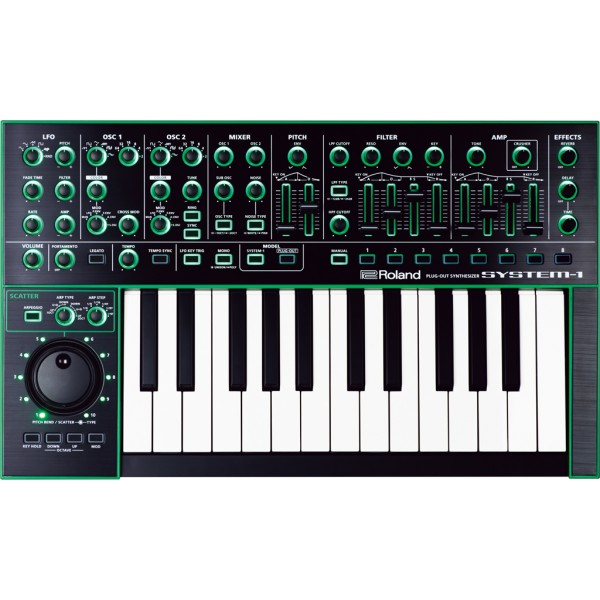 SYNTHESIZER ROLAND SYSTEM-1 PLUG-OUT SYNTHISIZER AIRA