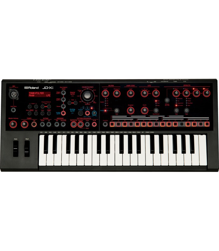 SYNTHISIZER ROLAND JD-Xi Analog/Digital Crossover