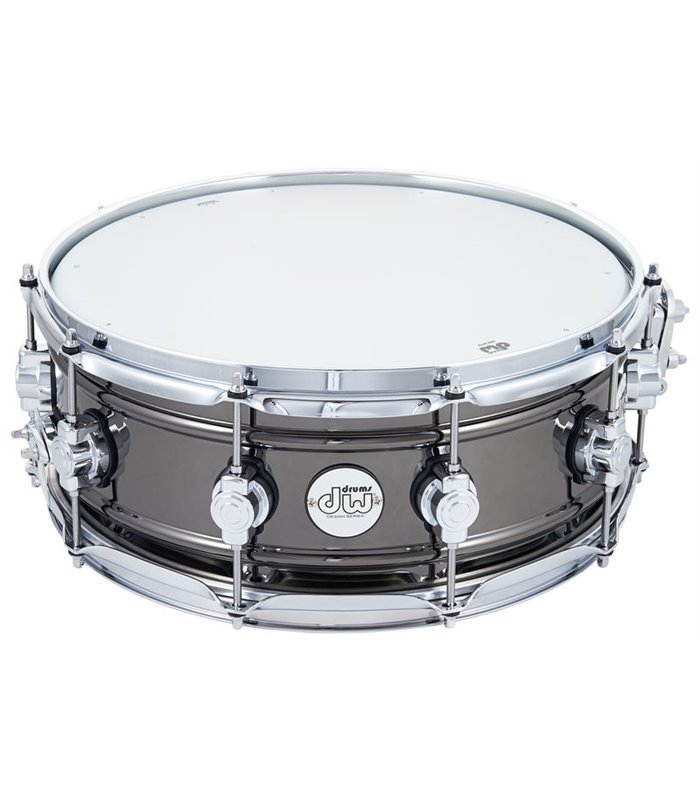 SNARE DW DESIGN Workhorse Black Nickel Over Brass 14x5.5