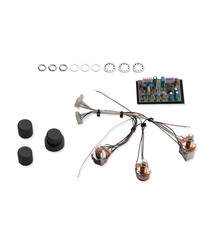 ELEKTRONIKA SEYMOUR DUNCAN STC-2A 2-Band Active pickups