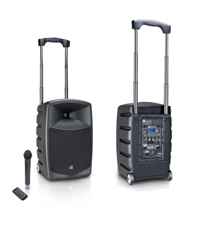 MINI RAZGLAS LD-SYSTEMS ROADBUDDY 10 + bežićni mikrofon 120/480W