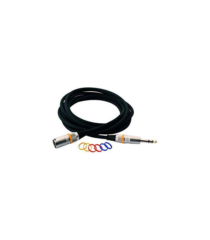 KABEL ROCKCABLE PATCH RCL30386 D7 M 6m XLRm/J