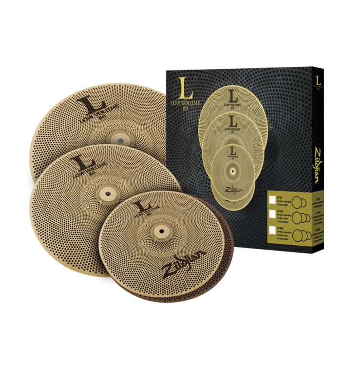 ČINELE ZILDJIAN L80 LOW VOLUME BOX SET (HH14,16,18)