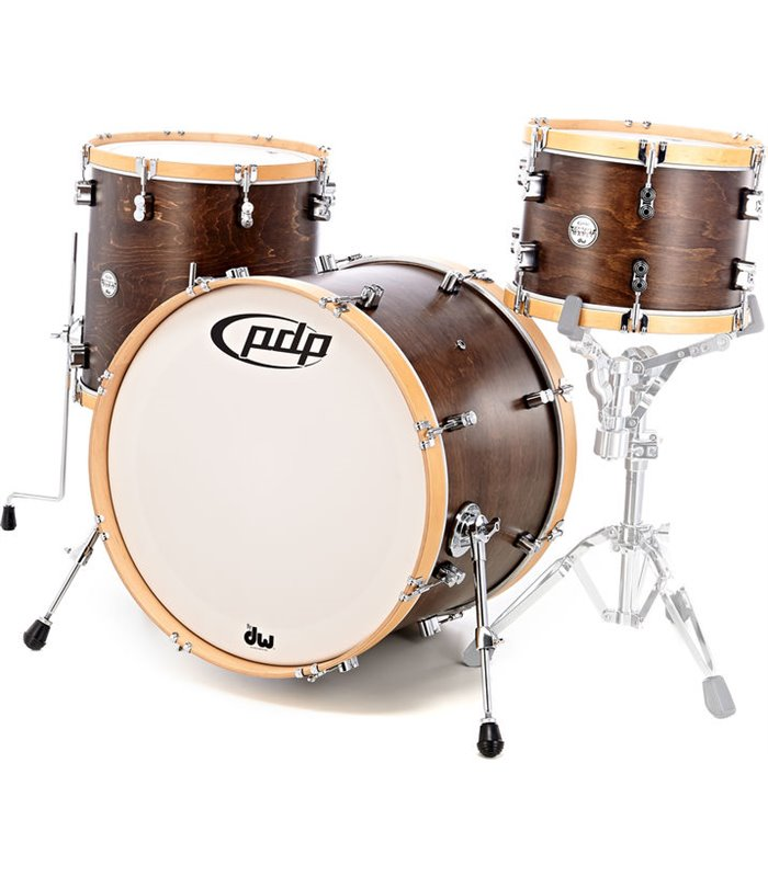 BUBANJ PDP CONCEPT CLASSIC WALNUT/NATURAL HOOP (22x16,13x9TT,16x14FT) SHELL SET