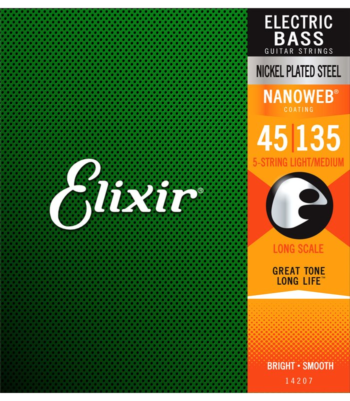 ŽICE ELIXIR BAS GITARA 45-135 5-STRINGS