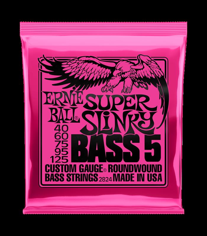 ŽICE ERNIE BALL BAS ROUNDWOUND 5-STRING SUPER SLINKY 40-125