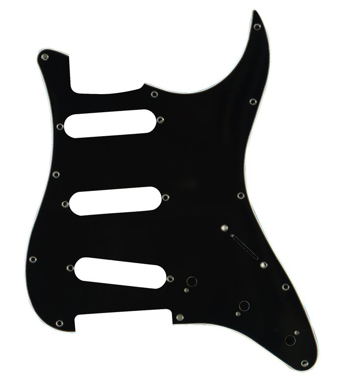 PICKGUARD STAGG SP-PKEL-STBK 3-ply