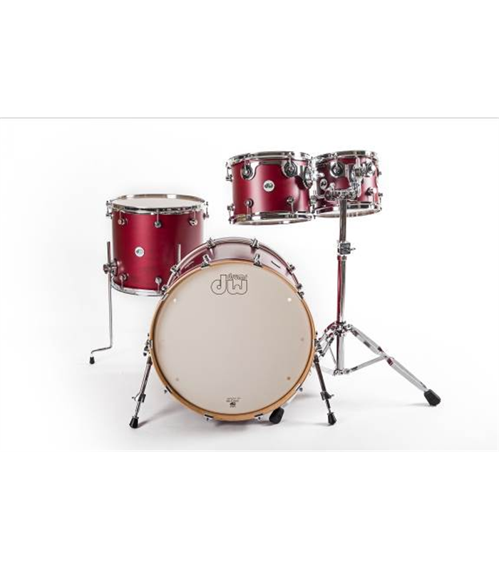 BUBANJ DW DESIGN SATIN DEEP CHERRY (22,10,12,16) SHELL SET