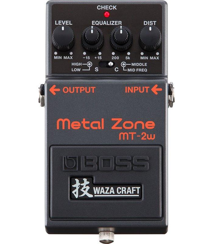 PEDALA EFEKT BOSS MT-2W Metal Zone Waza Craft