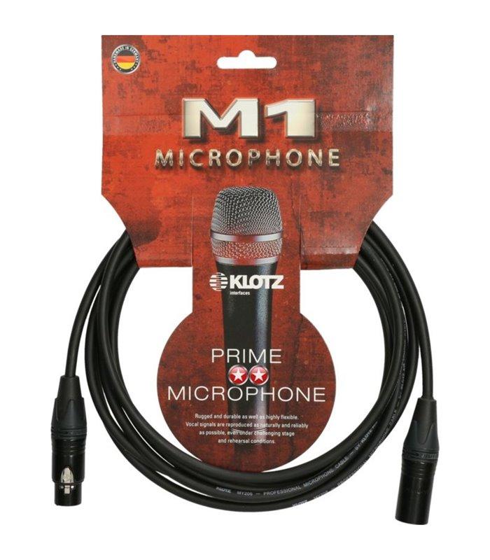 KABEL KLOTZ MIKROFONSKI M1FM1N0500 5m Neutrik