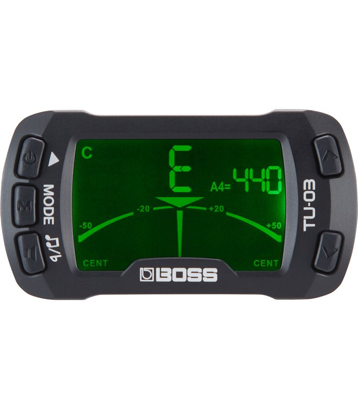 BOSS TU-03 Clip-On chromatic tuner/metronome ŠTIMER