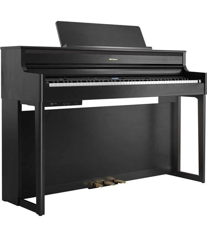DIGITALNI PIANINO ROLAND HP 704-CH Charcoal Black