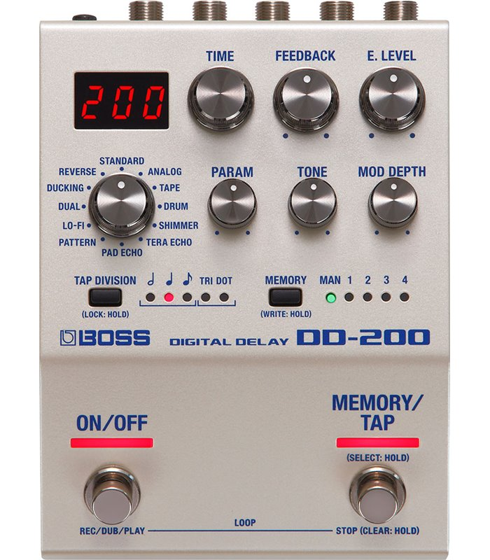 PEDALA EFEKT BOSS DD-200 Digital Delay