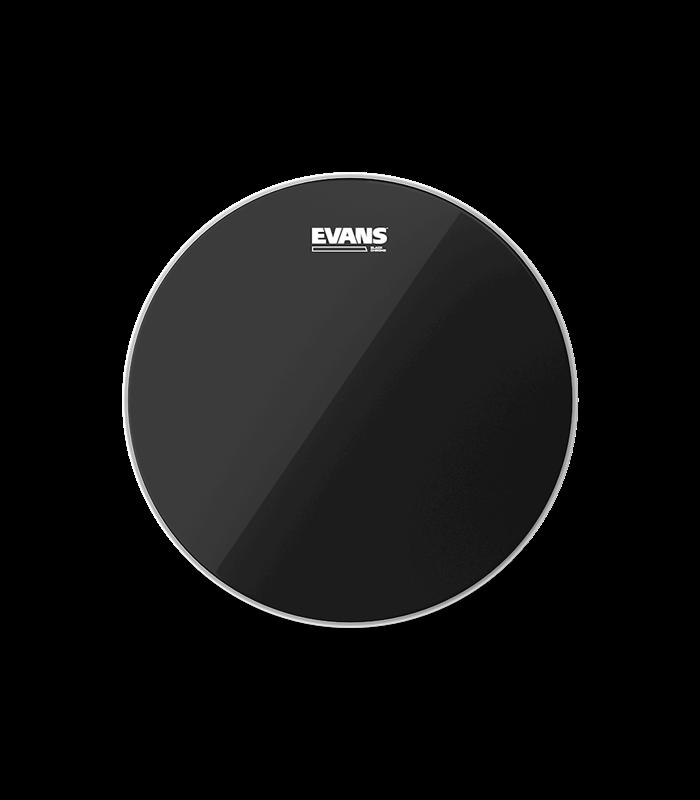 """EVANS TT18CHR 18"""" BLACK CHROME CLR PLASTIKA"""