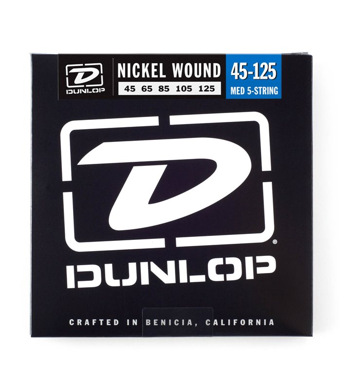 ®ICE DUNLOP BASS-NKL MEDIUM 45-125