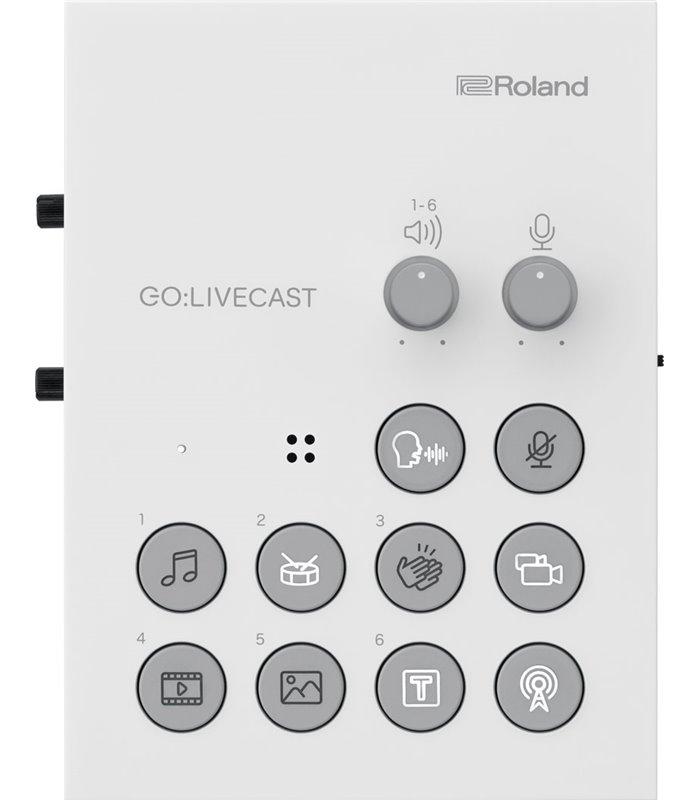 ROLAND GO:LIVECAST MIKSER