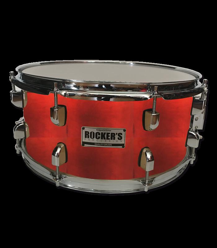 "ROCKERS JBMS-1069 14""x6.5"" birch RED BURST SNARE"