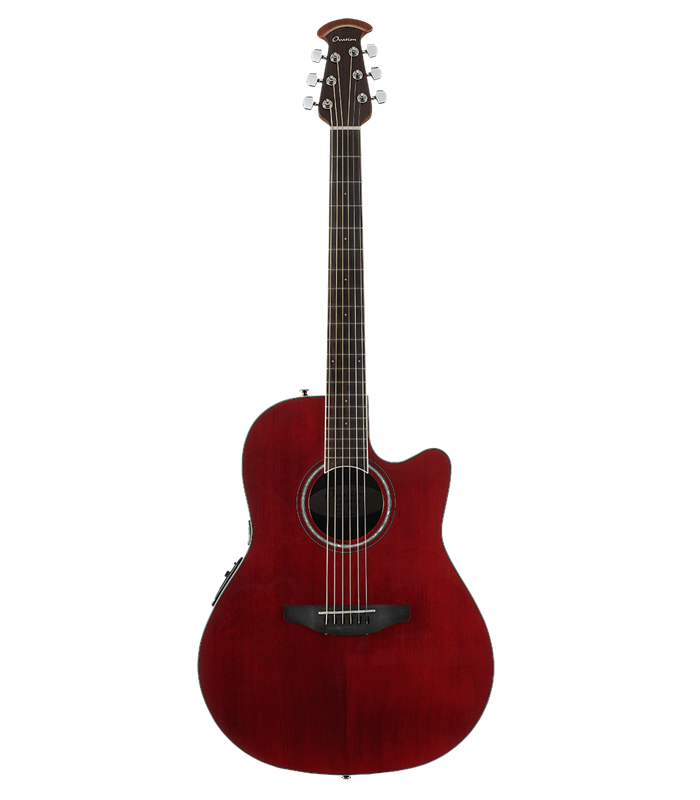 OVATION CELEBRITY STANDARD CS24-RR ruby red GITARA ELEKTRO-AKUSTIČNA
