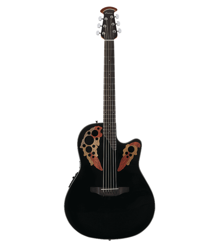 OVATION CELEBRITY ELITE CE44-5 black GITARA ELEKTRO-AKUSTIČNA