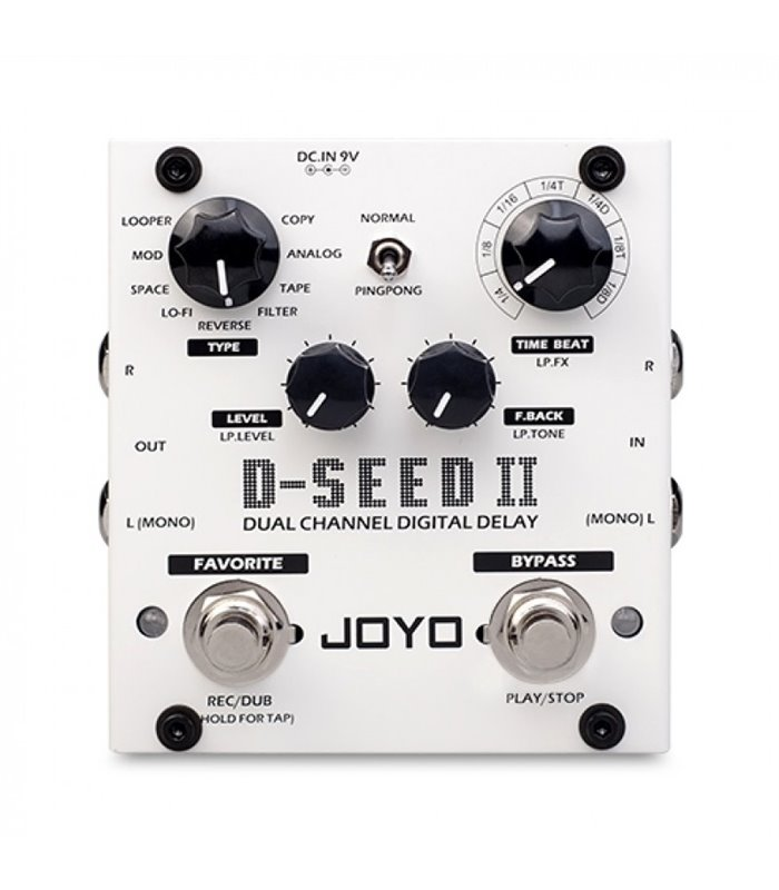 JOYO D-SEED II DIGITAL DELAY PEDALA EFEKT