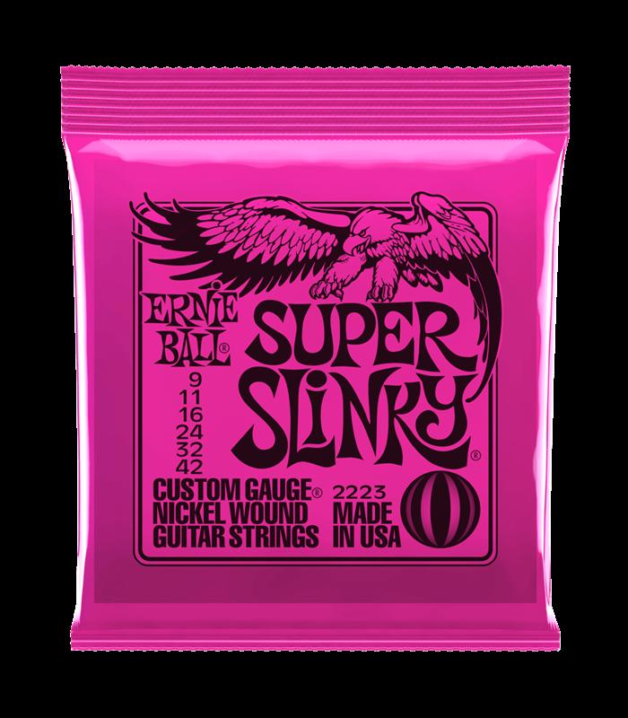 ®ICE ERNIE BALL GITARA SUPER SLINKY 0942