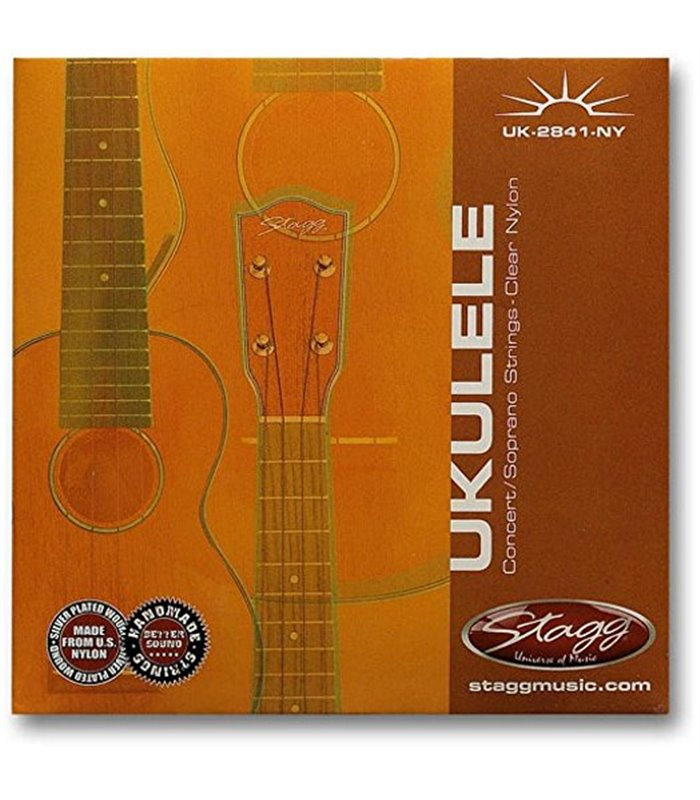 ®ICE STAGG UKULELE UK-2841-NY