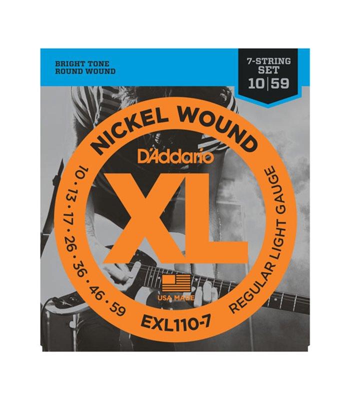 DADDARIO GIT. EXL110-7 10-59 ŽICE