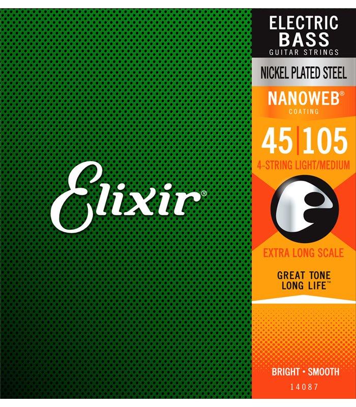 ®ICE ELIXIR BAS GITARA 45-105 XLNG