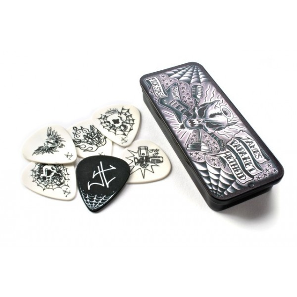TRZALICE JIM DUNLOP HETFIELD PICK TIN JPH01T088