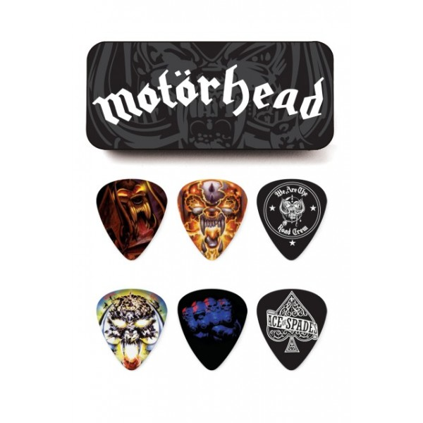 TRZALICE JIM DUNLOP MOTORHEAD ALBUM ART .73 PICK TIN MHPT03