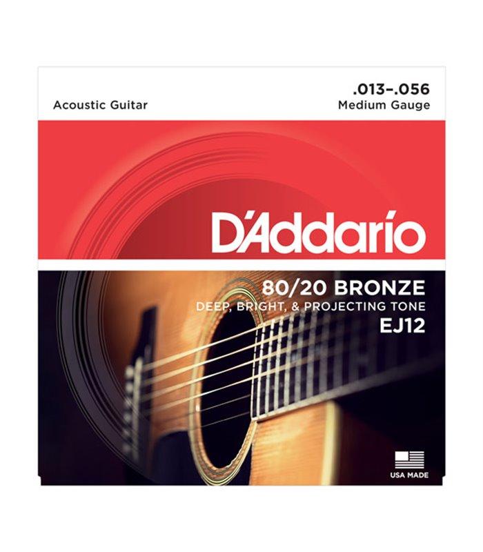 ®ICE DADDARIO AKUSTIKA EJ12 13-56 BRONZE