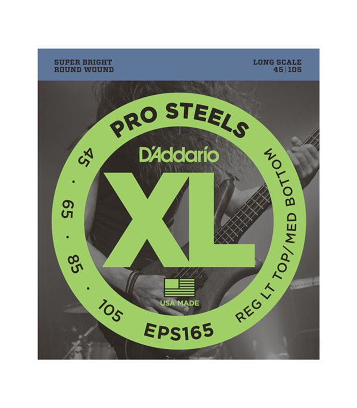 ®ICE DADDARIO BASS EPS165 45-105 pro steels