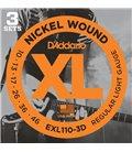 ®ICE DADDARIO ELEKTRIKA EXL 110-3D 10-46 3 pack