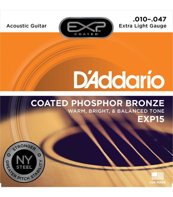 ®ICE DADDARIO AKUSTIKA EXP15 10-47 coated