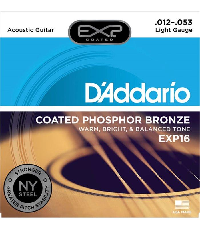 ®ICE DADDARIO AKUSTIKA EXP16 12-53 coated