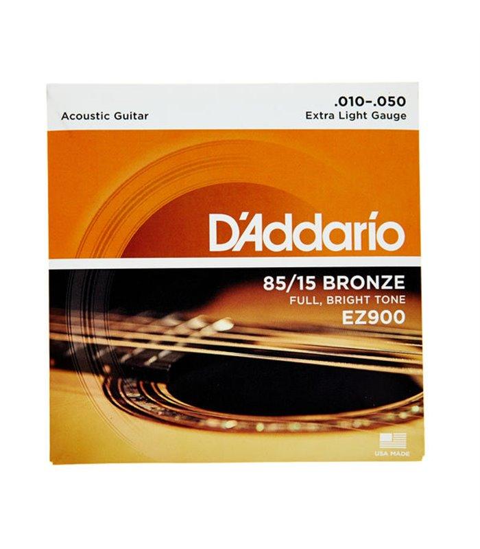 ®ICE DADDARIO AKUSTIKA EZ900 10-50 BRONZE