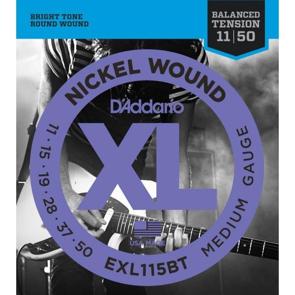 DADDARIO ELEKTRIKA EXL115-BT 11-50 balanced tension ŽICE