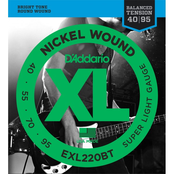 ®ICE DADDARIO BASS EXL220-BT 40-95 balanced tension