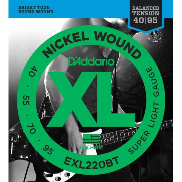 ®ICE DADDARIO BASS EXL220-BT 40-95 balanced tension