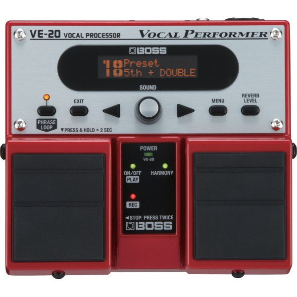 VOKALNI EFEKT BOSS VE 20 Vocal Processor