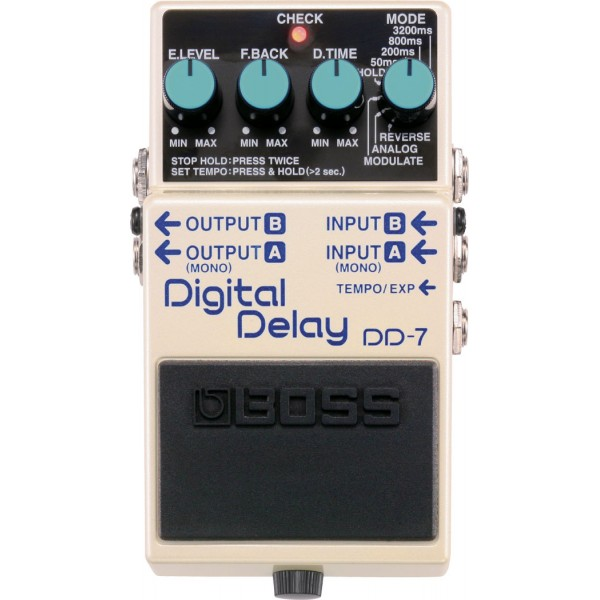 BOSS DD-7 Digital Delay PEDALA EFEKT