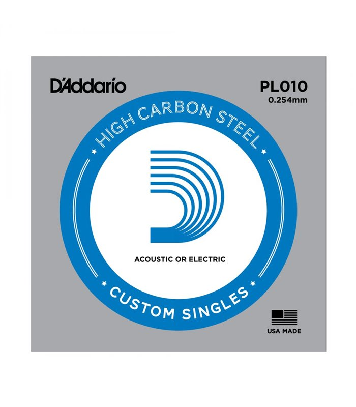 ®ICA DADDARIO PLS010 Plain Steel