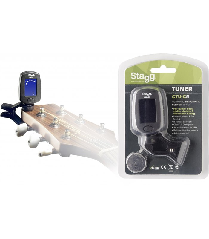 ŠTIMER STAGG CTU-C5 CHROMATIC TUNER